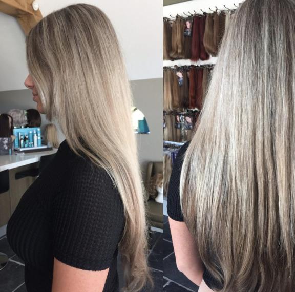 Flip-in Hair | Estee Paris Haarverlenging in 1 minuut