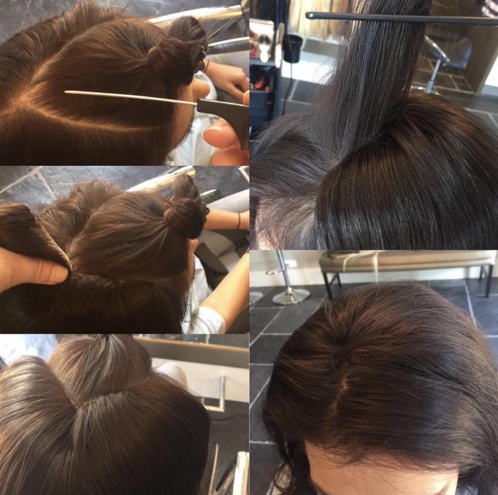 Hoe plaats je een V-Part haarstuk