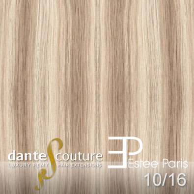 EsteeParis Dante Couture hair extensions kleur 10 16
