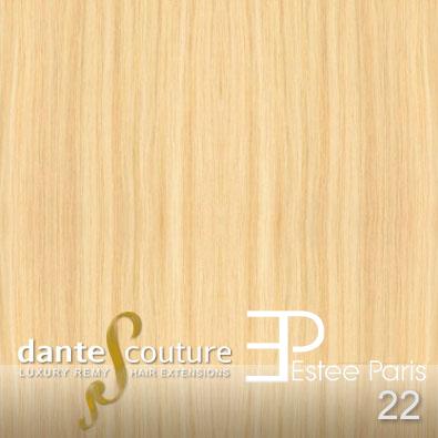 EsteeParis Dante Couture hair extensions kleur 22