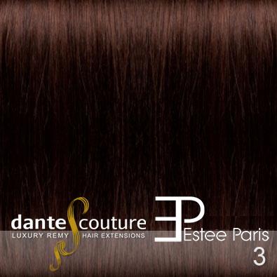 EsteeParis Dante Couture hair extensions kleur 3