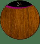 great hair extensions kleur 24