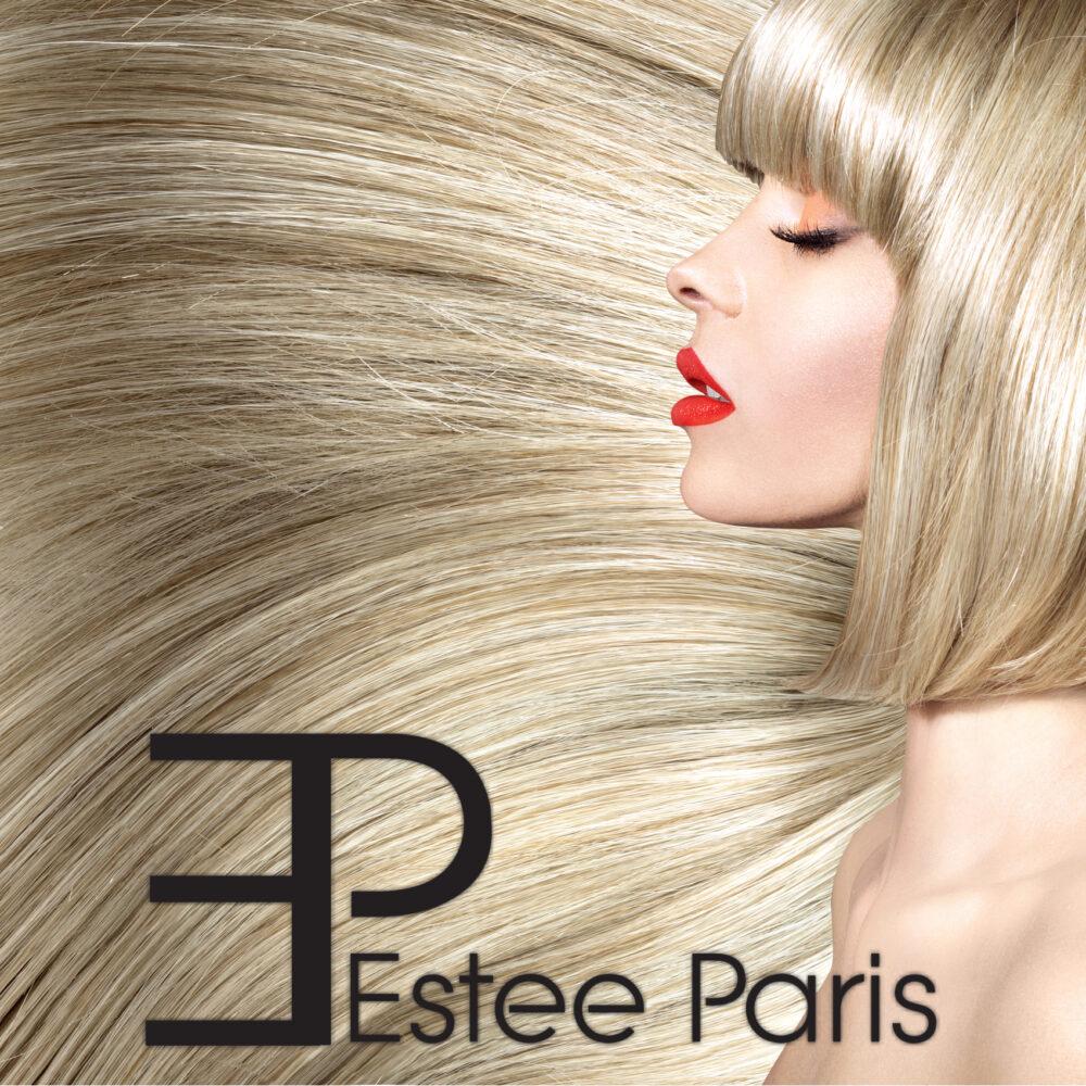lang haar estee paris 60c-3 licht blond mix