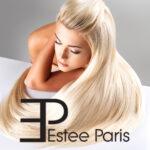 hairextensions platinum blond blond