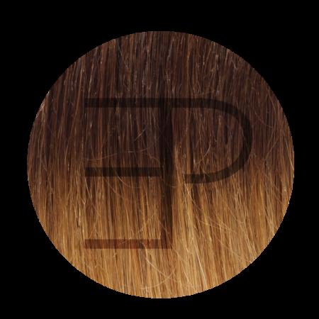 Keratine Hairextensions kleur ombre 27